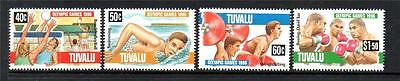 Tuvalu Mnh 1996 Sg756-759 Olympic Games - Atlanta