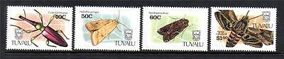 Tuvalu Mnh 1991 Sg601-604 Insects