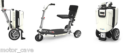 Portable Mobility Scooter Wheelchair Battery Electric Folding Aid Airplane