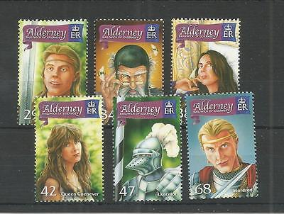 Alderney 2006 The Once And Future King Sg,a267-A272 Um/m N/h Lot R297