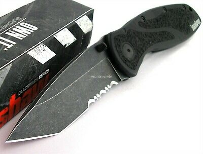 Kershaw Blur Tanto Blackwash Assisted Opening Knife NEW IN BOX USA 1670TSTBW
