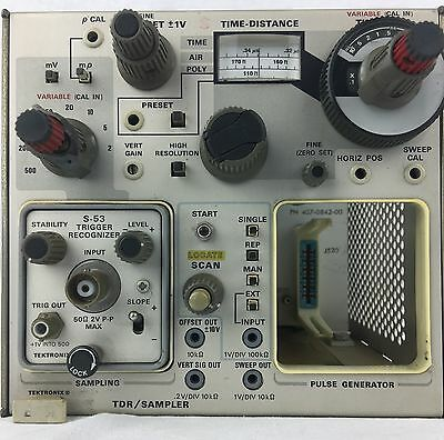 Tektronix 7S12 TDR/Sampler with S-53 plug-in for 7000 series oscilloscope