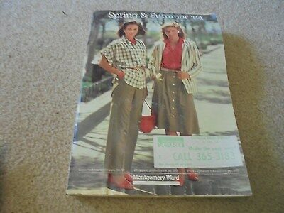 Vintage 1984 Montgomery Ward Spring and Summer Catalog