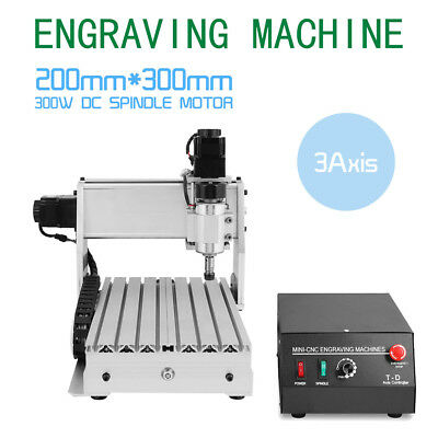 3 Axis Engraver 3020T Router Engraving Drilling Milling 3D Cutter Cnc
