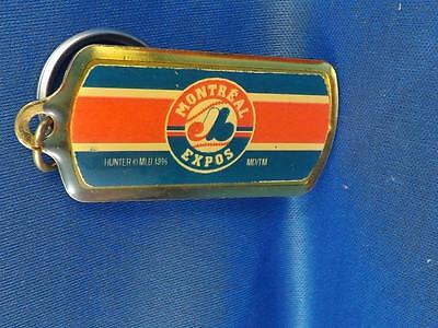 Montreal Expos Mlb Baseball Team Numbered Sport Nut Fan Keychain Key Ring 1996