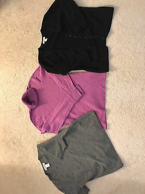 Lot 3 Cashmere Sweaters M/L