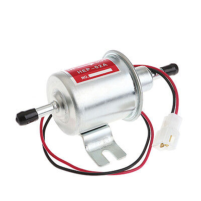 Universal Diesel Gasoline Petrol 12V Electric Fuel Pump HEP-02A Low Pressure
