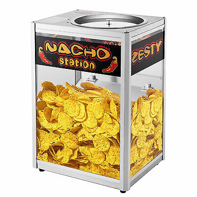 Nacho Chip Popcorn Warming Station Commercial Grade Tabletop Concession Machine