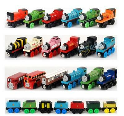 Thomas & Friends Wooden Magnetic Tank Engine Railway Kids Mini Train Toy NEW