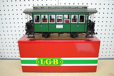LGB 3020 (30200) DEV Nach Asendorf Third Class Passenger Car *G-Scale*