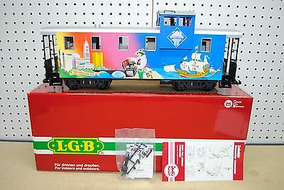 LGB 40718 MRRC Columbus, OH 20th Anniversary Caboose Car *G-Scale* NEW