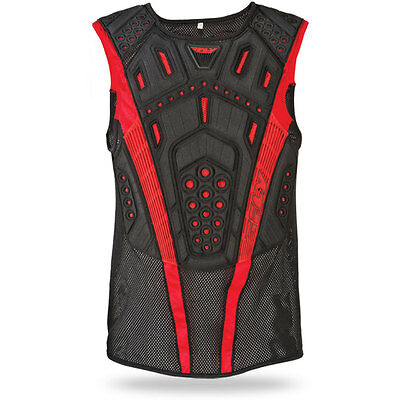 Fly Racing Red/Blk Youth & Adult Undercover II Roost Guard Dirt Bike Offroad MX