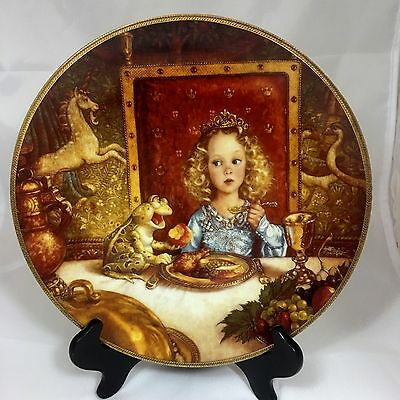 Knowles Classic Fairy Tales Collectors Plate -The Frog Prince by Scott Gustafson