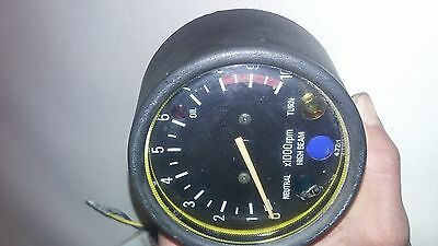 Rare 1979-81 Yamaha DT175 Enduro Tachometer With All Wires And The Cable