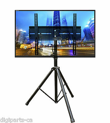 Universal Mobile Portable Tripod TV Stand with Mount for 32 - 55 inch LED, LCD