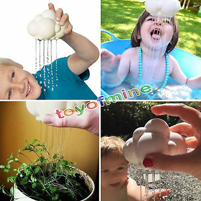 Science Nature Rain Cloud Baby Child Enlightening Bath Bathing Toy Shower Fun