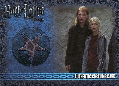 Harry Potter & the Deathly Hallows Part 1 Bill Weasley's C2 Costume Card