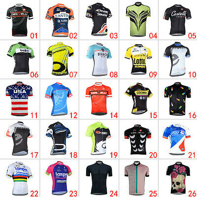 New Cool Mens Road Bike Clothing Fashion Jerseys Short Sleeve Tops Riding Shirt
