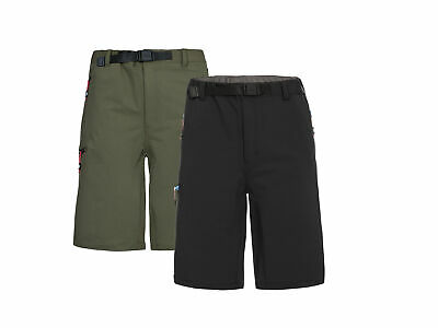 Trespass Garison Mens Active Quick Dry Outdoor Summer Hiking Shorts with Belt