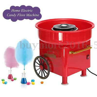 Vintage Electric Fairy Cotton Candy Floss Sugar Maker Machine Home Party Kids