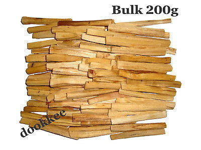 PALO SANTO Holy Wood Incense Sticks Smudge Sticks – BULK 200 grams