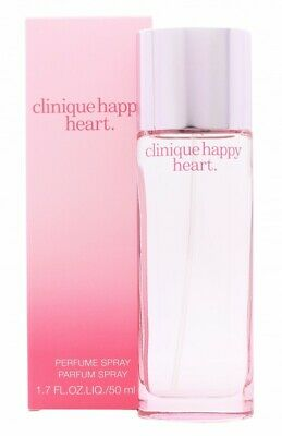 Clinique Happy Heart Eau De Parfum 50Ml Spray - Women's For Her. New