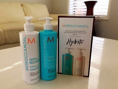 Moroccan Oil Hydrating Shampoo & Conditioner Duo Pack 500ml Each Free Postage
