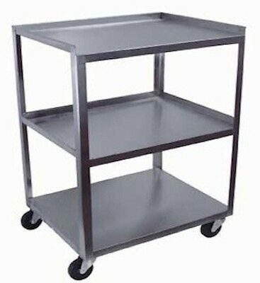CART, Stainless, 3 Shelf, 21 in. Blemish NEW, 16x21