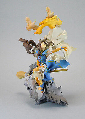 Anime Ah! My Goddess Promo Belldandy Figure on the EARTH & Base Set Japan Oh