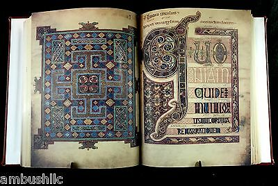 Lindisfarne Gospels, Full 518 Page Color Facsimile