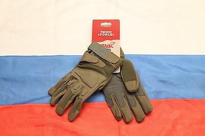 Russian army military spetsnaz Splav Force tactical gloves full finger olive