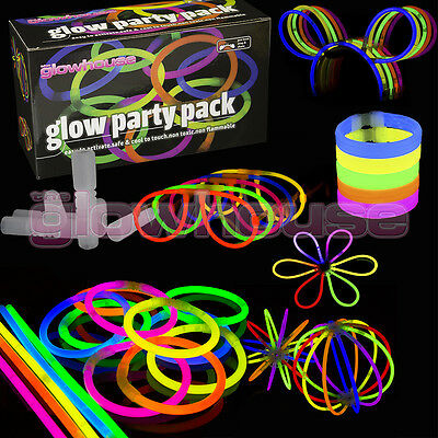 Glow Sticks Party Pack inc connectors for: