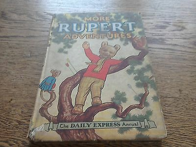 More Rupert Adventures Annual 1952 Alfred Bestall Daily Express