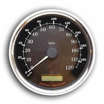 Harley-Davidson 1996-2017 TOURING speedometer conversion sticker, KM/H # 2020