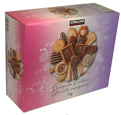 European Cookies Made With Exquisite Chocolate Large 1Kg Biscuits Boxed