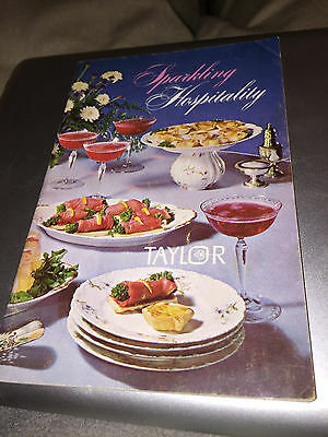 1970 Taylor Wine Co. Recipe Book Hammondsport, Ny