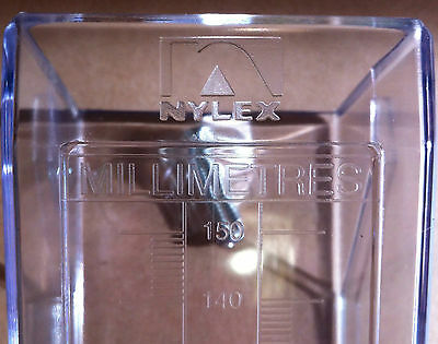Nylex Rain Gauge 150mm NEW - Bare no bracket