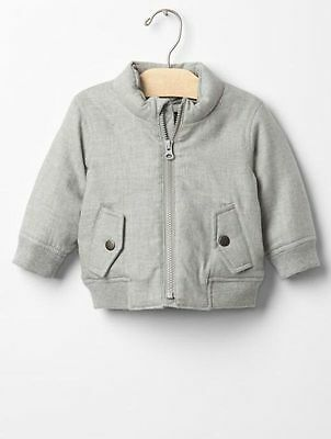 f2a03399d176 GAP BABY BOYS Size 0-6 Months Olive Green Jacket Puffer Parka Coat w ...