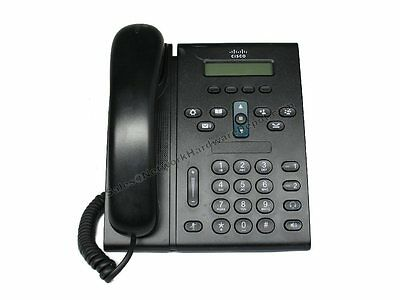 Cisco CP-6921-C-K9 Unified Business VoIP IP Phone w/ Handset- 1 Year Warranty