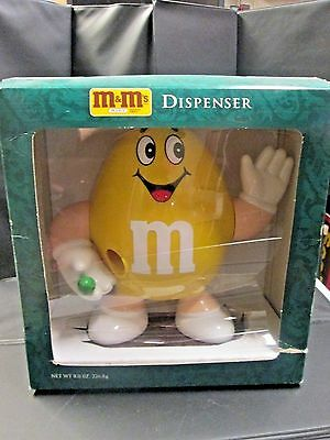 M & M's Candy Dispenser from 1992, New in box