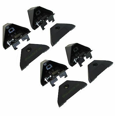 4x Roof Bar Feet Commercial VW Caddy van Box 1197-2004 cross rack box CVS08