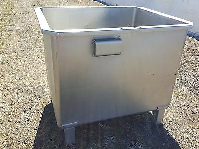 Stainless Steel Meat Tubs