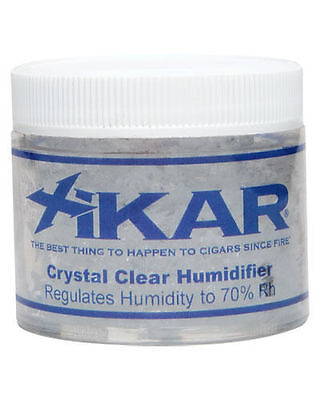 XiKAR 809Xi 2oz Crystal Cigar Humidifier Humidification Jar 3 Pack