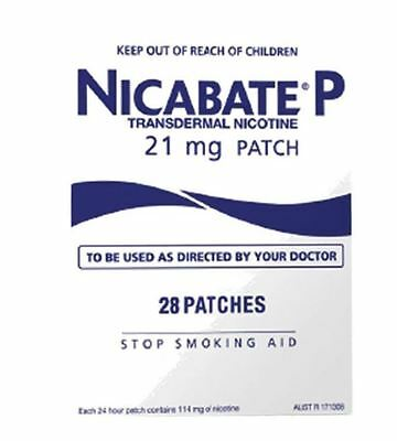 Nicabate P Patch 21Mg Patches 28