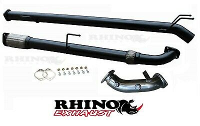 """Toyota Hilux D4D Kun Series 3Ltr 3"""" Inch Turbo Back Exhaust No Cat / Diff Pipe"""
