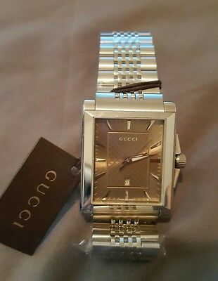 6e280d4a241 Authentic Gucci men watch  1295 brand new ALL RESONABLE OFFERS ACCEPTED