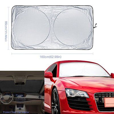 Car Sun Shade UV Protector Shield Auto Folding Front Window Windshield Visor NEW