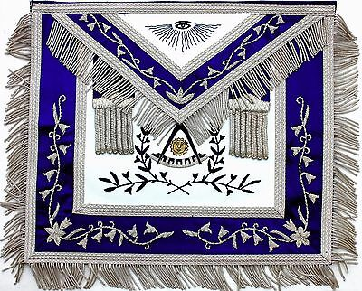 Hand Embroidered Masonic Collar Past Master Apron