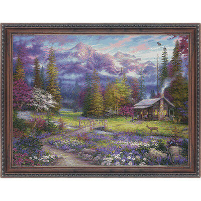 NEW Inspiration of Spring Meadows- Needlework