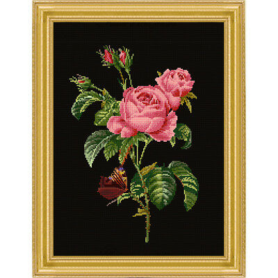 NEW Romantic Roses- Needlework